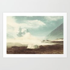 Bolivia/Peru Collaboration with Matt Shelley (Part three)  Art Print