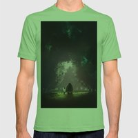 Feel Lonesome Mens Fitted Tee Grass SMALL