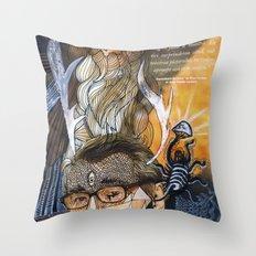 Psychoactive Bear 1 Throw Pillow