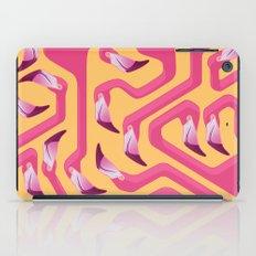 Flamingo Maze iPad Case