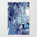 icicles Symphony Canvas Print