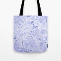 Marble - Blue Tote Bag