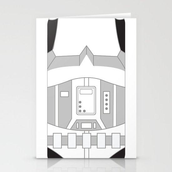 Stormtrooper iPhone Case Stationery Card
