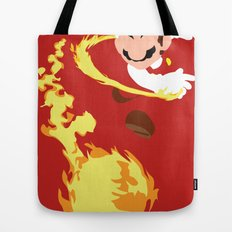Mario - Fire Flower Mario Tote Bag