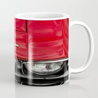 1969 Red Chevrolet Chevelle Car Mug