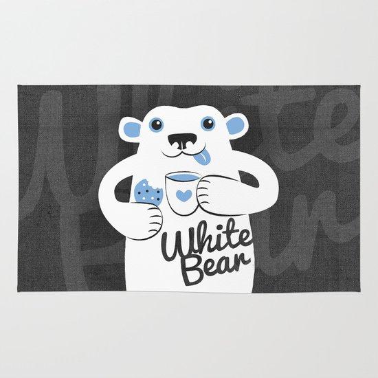 White Bear Area & Throw Rug