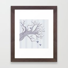 Cold Cold Heart Framed Art Print