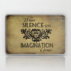 Where Silence Sits Laptop & iPad Skin