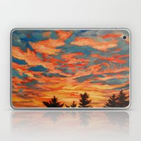 Fire Sky  Laptop & iPad Skin
