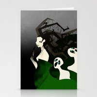Hel The Goddess Of Death Stationery Cards