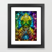 Off To See The Wizard Framed Art Print