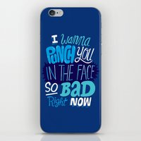 I Wanna Punch You In The… iPhone & iPod Skin