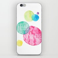 Hello Nowhere iPhone & iPod Skin