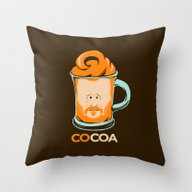 Throw Pillow featuring COCO Conan by Olechka