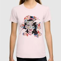 JuLiE RuiN!!! Womens Fitted Tee Light Pink SMALL