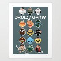 DroidArmy: Maclac Squadr… Art Print