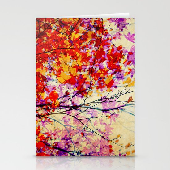 Autumn 5 Stationery Card