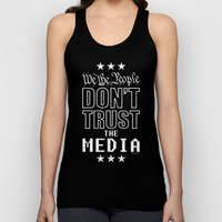 WE THE PEOPLE DON'T TRUST THE MEDIA Unisex Tank Top