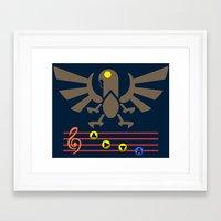 Bioshock Infinite: Song … Framed Art Print