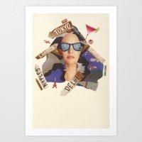 summer holiday countdown Art Print
