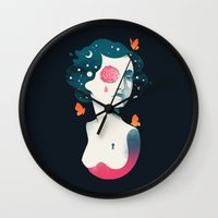 Rebel Girl Wall Clock