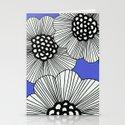 DOODLE BLUE Stationery Cards