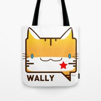 Convo Cats! Wally Tote Bag