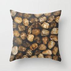 River Stones Throw Pillow