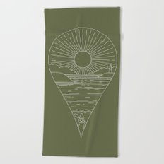 Heading Out Beach Towel