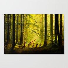 Secret Parade Canvas Print