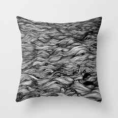 Where the Oceans End Throw Pillow