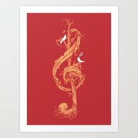 Natural Melody Art Print