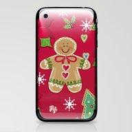 Gingerbread Girl iPhone & iPod Skin