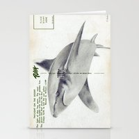 Postcard Shark Stationery Cards