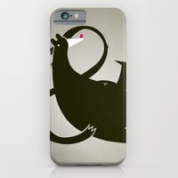 Amp-bear-sand Poster iPhone 6 Slim Case