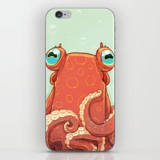 Goldie the Octopus iPhone & iPod Skin