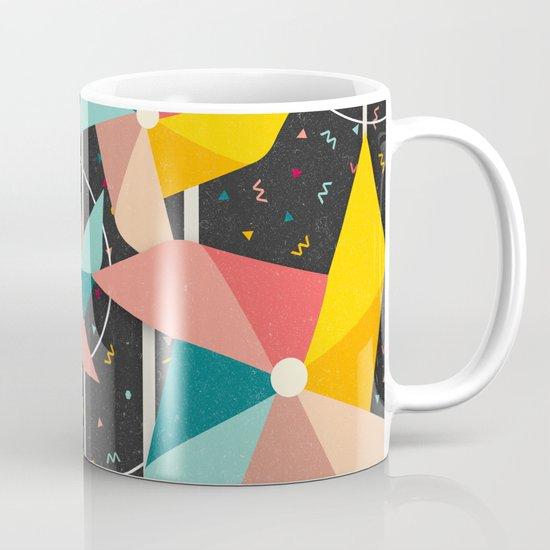 Colourful Pinwheels Mug