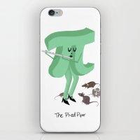 Pi-ed Piper iPhone & iPod Skin