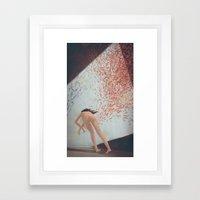 Eva Is Inside Her Cat Framed Art Print