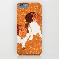 iPhone & iPod Case featuring Nothing Rhymes with Orange by Canis Picta