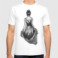 Polite Girl Mens Fitted Tee White SMALL