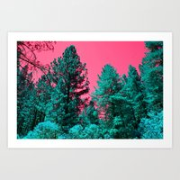 The TREES Art Print