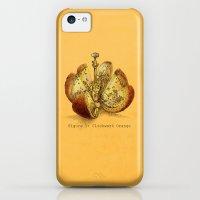 iPhone 5c Cases featuring Clockwork Orange  (color option) by Eric Fan