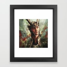 The Prince of Asgard Framed Art Print
