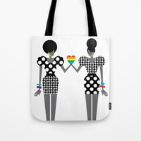 Totally In Love Girls (L… Tote Bag