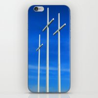 Bellevue Crosses iPhone & iPod Skin