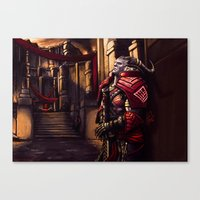 Dragon Age - A Moment Of… Canvas Print