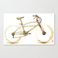 Coffee Wheels #01 Canvas Print