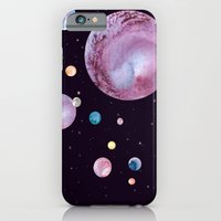 iPhone & iPod Case featuring Planets by Suky Goodfellow