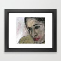 ASIAN GIRL Framed Art Print